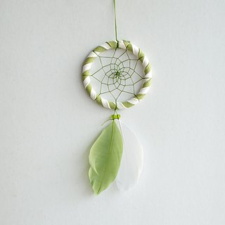 Dream Catcher 8cm - Summer Solstice (Fresh Two-tone Style) Birthday Gift, Home Furnishing