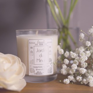 Handmade Soy Candles (Large) - Midsummer Night Roses
