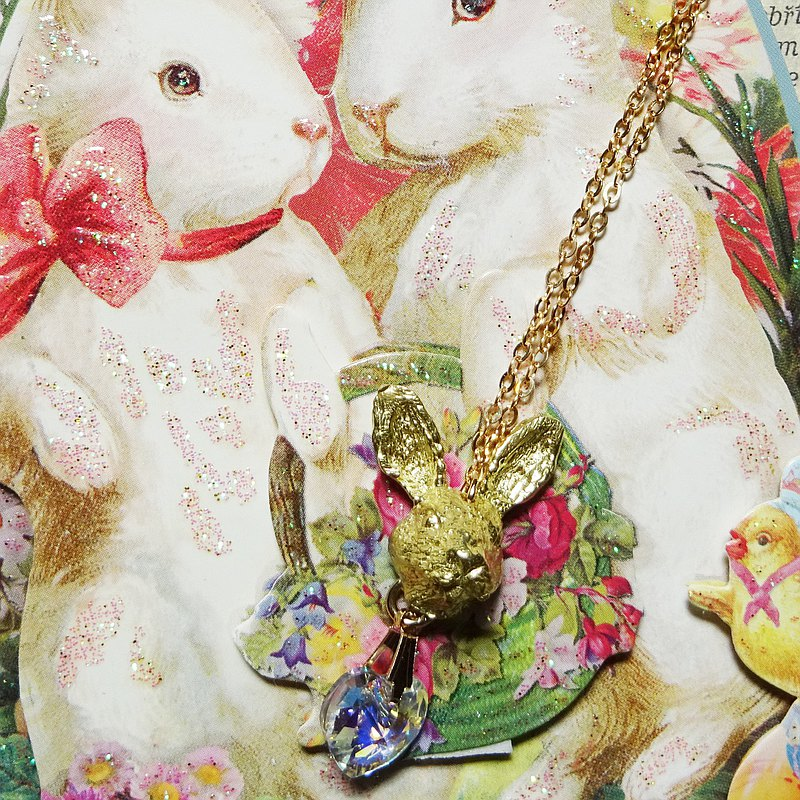 Sedmikrasky Bunny Love Necklace [Made to order]