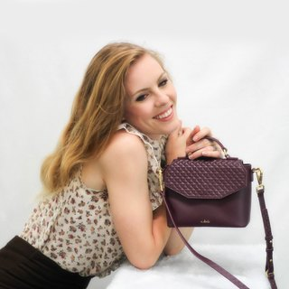 Margaux Crossbody Bag - Wine