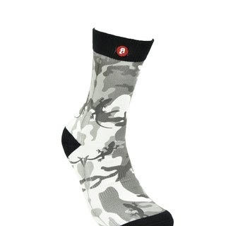 Hong Kong Design | Fool's Day stamp socks -Lizard Grey Camouflage 00205