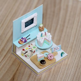袖珍場景生日卡片 Miniature Happy Birthday Party