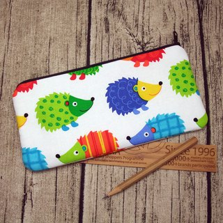 Large Zipper Pouch, Pencil Pouch, Gadget Bag, Cosmetic Bag (ZL-20)