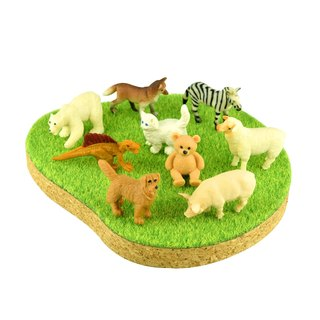 Shibaful PLAY with Animal figure / Shibaful Animals Miniature (Tying)