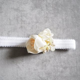Elegant handmade baby headband for party