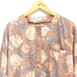 │Slowly│Flower Open - Vintage Shirt │vintage. Retro. Literature