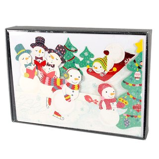 Snowman is passing Christmas Christmas Box 12 into [Hallmark-Card Christmas Series]