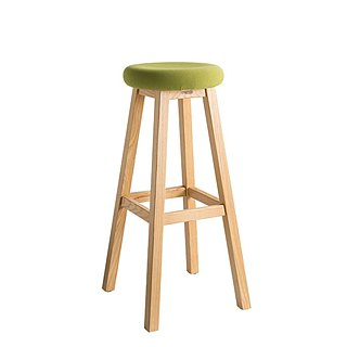 Chair stool. Yalong high stool, multi-color optional-【love door】