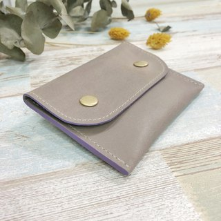 [Minimal universal folder] ZiBAG-015 / elegant rice ash (light purple oil side)