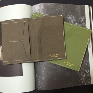 Passport – washable kraft paper    deep green . light green