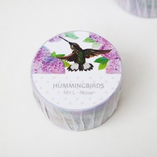 Hummingbird paper tape (stock)