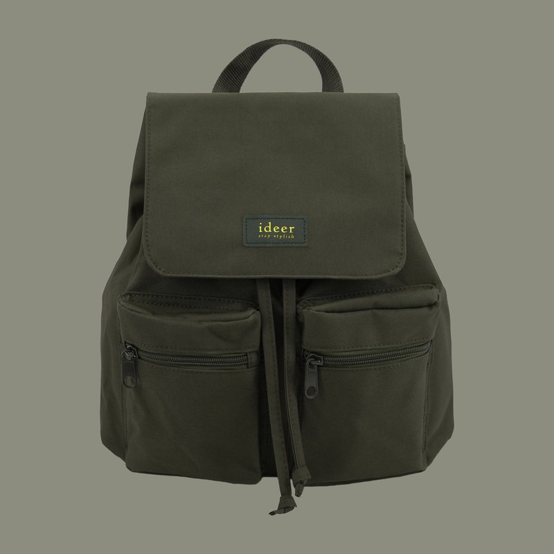 【換季特賣】 防潑水軍綠色超輕背包 後背包 電腦包 旅行 書包