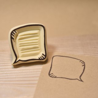 Practical dialog <Dazheng> Manual rubber stamp