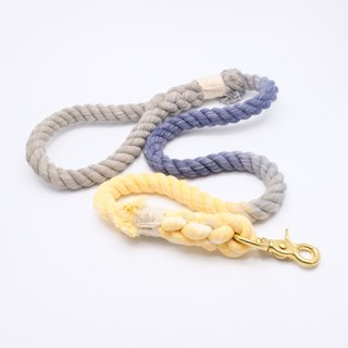 COTTON DOG LEASHES - ROYAL (90cm)
