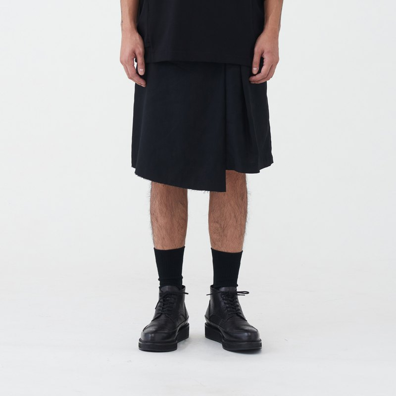 TRAN - big living pleated skirts