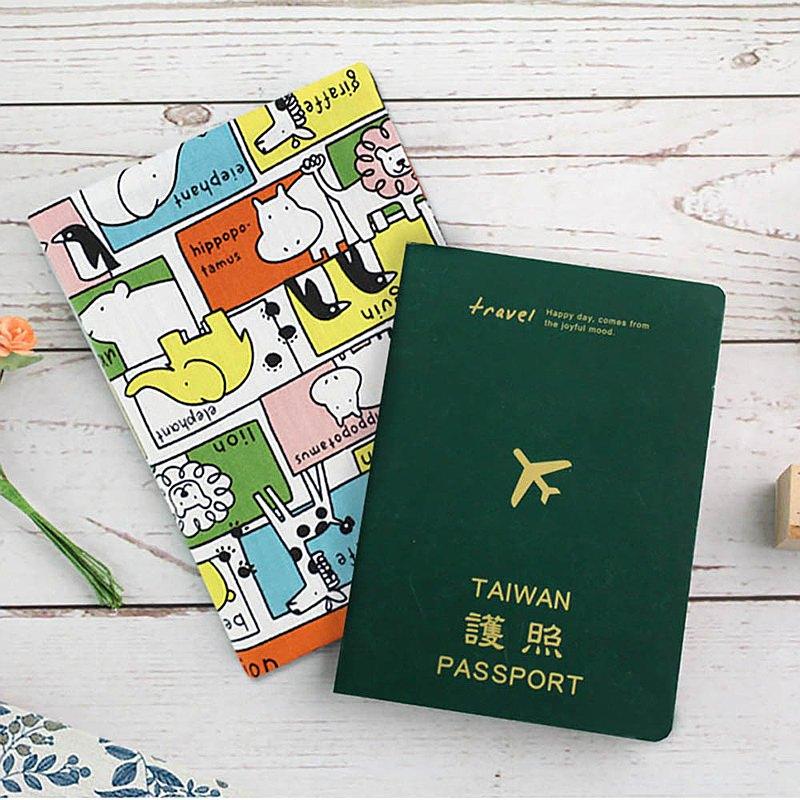 女人節新品 Chuyu 花布輕便護照套/護照包/護照夾