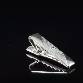 【C'est Cufflinks】 SARAH COV American retro with a short tie clip