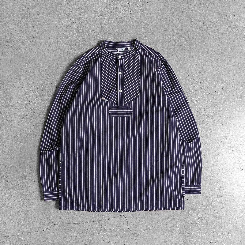 德國漁夫襯衫 Fisherman shirt 粗紋