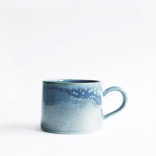 Flambe Glaze Mug-Sea Foam Blue