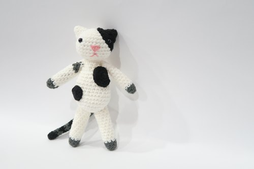 Aprilnana_proud miss cat crochet doll , amigurumi