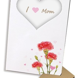 Carnation carnivals 60 seconds sound and light recording card postcard photo frames Mother's Day gifts