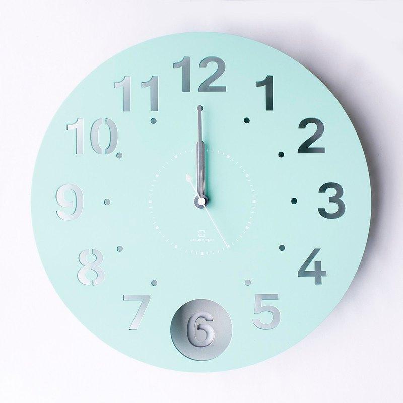 日本 yamato japan Circle Clock 擺動式壁掛時鐘 三色可選