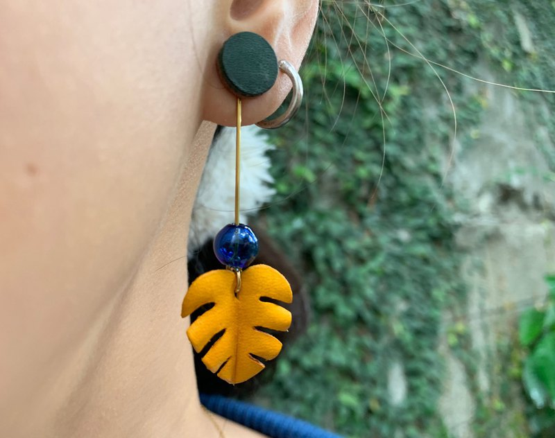 Plant Leather Earring Workshop