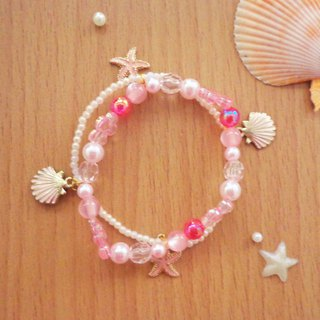 Pink Theme Sea Ocean Series Bracelet Cute & Breeze on the Beach