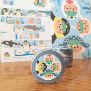 [Beryl small sea tour] limited paper tape