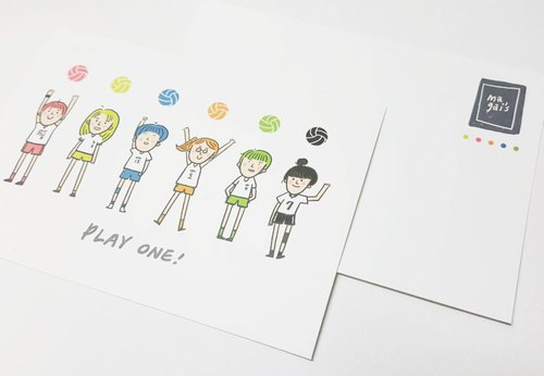 PLAY ONE! / Magai's postcard