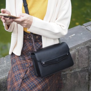 Sven (Black) cross-body bag