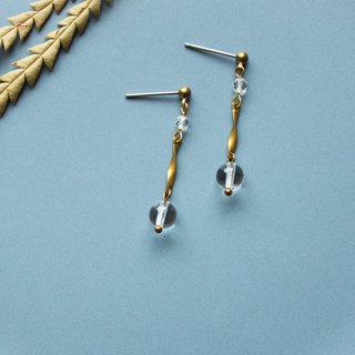 Tearful - earring  clip-on earring