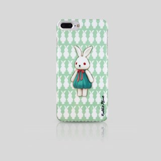 (Rabbit Mint) Mint Rabbit Phone Case - Bu Mali Merry Boo - iPhone 7 Plus (M0015)