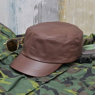 [MAJORLIN] Representation of the taste and texture of the military brown cap of military jacket