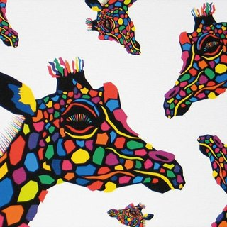 Painting illustrations Art giraffe giraffe Giraffe multiple A4-K