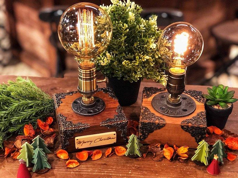 經典工業風造型桌燈-禮物/生日禮物/手作禮物