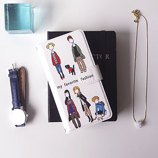 Notebook type phone case - my Fashion -