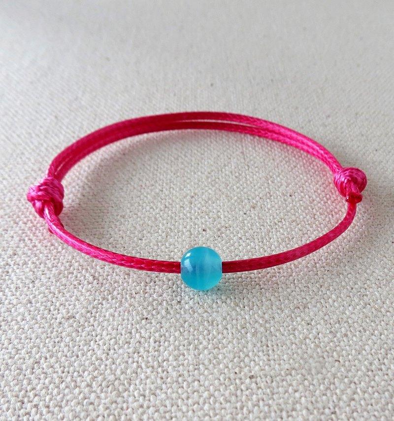 Lucky Pray Stone Ice Tianhe South Korea Wax Bracelet 2 Of Hope