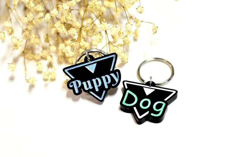 Pet brand name - pet charm - custom - made