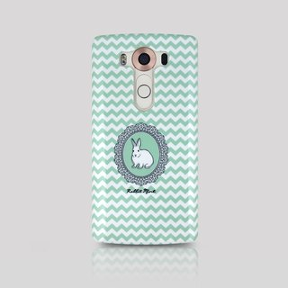 (Rabbit Mint) mint Phone Case Rabbit - Rabbit Portrait Series - LG V10 (00079)