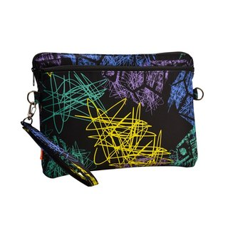 "SOLIS [ Celebration Series ] 10.5"" Tablet Sleeve Case(graffiti black)"
