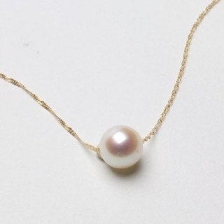 18K*Japanese Akoya sea pearl necklace