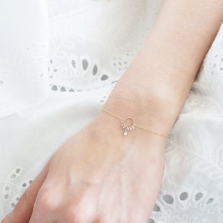 【14 KGF】 Raw Diamond - Bracelet / Anklet -