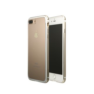 OVERDIGI LimboX iPhone7/8Plus 雙料鋁合金邊框 金