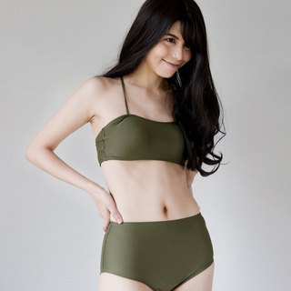 'KALE' LIMITED EDITION - Double crossback - (Size L) / Swimwear