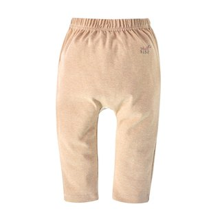 [SISSO organic cotton] organic cotton baby elastic butt pants (coffee color)