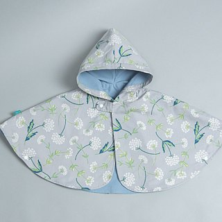 Double-sided cloak - bamboo safflower hand made non-toxic jacket baby children's clothing