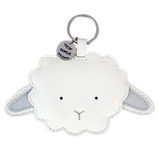 Donsje Leather Animal Key Ring Sheep 0617-ST019-LE060