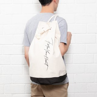 【ad-lib】Message Boxer Bag (BA165)