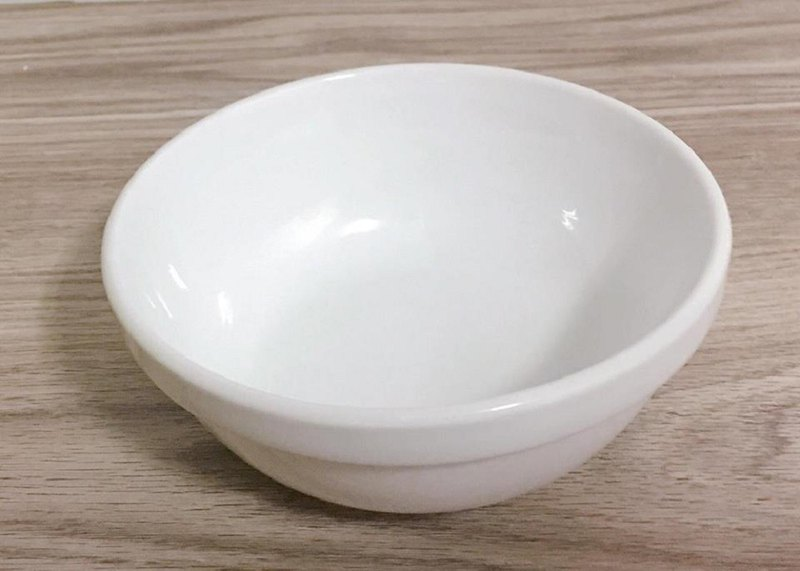 Cat dining table special porcelain bowl __ two into